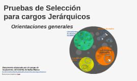 Copy of Pruebas de Selección para Cargos Jerárquicos