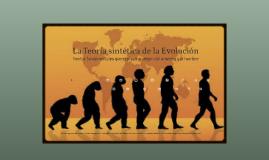 La Teoria sintética de la Evolucion