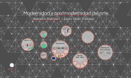 Copy of Modernidad y postmodernidad del arte.