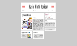 Basic Math Review