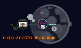 CICLO Y COSTOS DE CALIDAD.