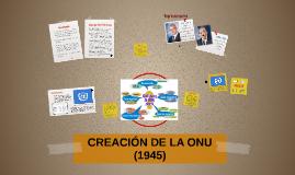Copy of CREACIÓN DE LA ONU (1945)