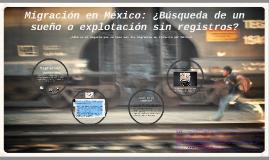 Migración: contexto Histórico