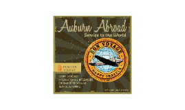 3/23/15 - Auburn Abroad Presentation