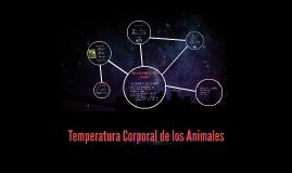 Temperatura Corporal de los Animales