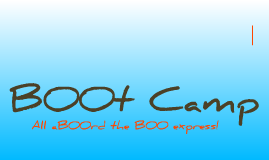 SLC Squad Leader Presentation - All aBOOrd the BOO Express!