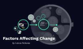 Factors Affecting Change