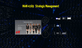 MAN4169 Strategic Management