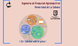 Ingeniería de Producción Agroindustrial