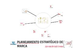 PLANEJAMENTO ESTRATÉGICO DE MARCA