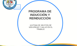 PROGRAMA DE INDUCCIÓN Y REINDUCCIÓN