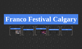 Franco Festival Calgary