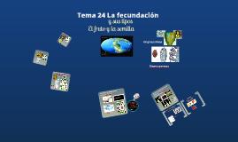 2017. La fecundación, semilla y frutos (T24) para ambientales.