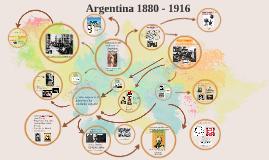 Master Argentina 1880 - 1914