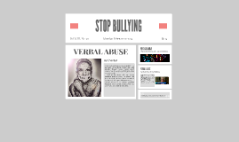 STOP VERBAL ABUSE