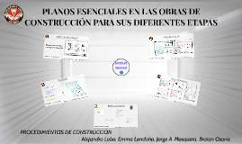 PLANOS ESENCIALES EN LAS OBRAS DE CONSTRUCCIÓN PARA SUS DIFE