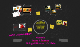 Copy of Osmosis