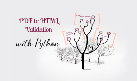 PDF to HTML Validation with Python