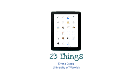 23 Things - AULIC Conference