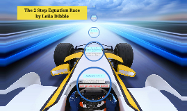 The 2 Step Equation Race