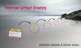 Immersion Without Drowning