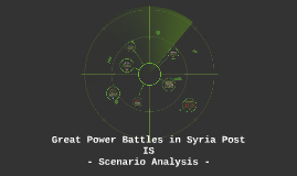 Great Power Battles in Syria Post IS