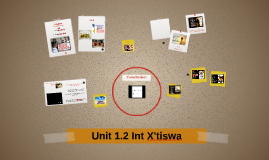 Unit 1.2 Int X'tiswa
