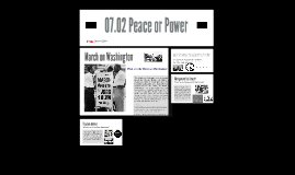 07.02 Peace or Power?