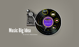 Music Big Idea