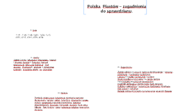 Copy of Polska  Piastów – zagadnienia do sprawdzianu.
