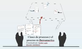 Clases de procesos y el proceso en Iberoamerica
