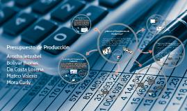 Copy of Presupuesto de Producción
