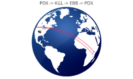 PDX -> KGL -> ETB -> PDX