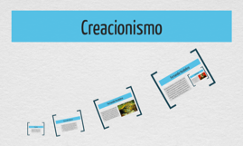 Copy of Creacionismo