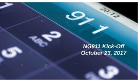 NG911 Kick-Off