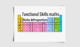 FS  Maths - Ratio & Proportion