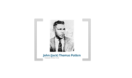 Copy of Jack Patten