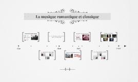 La musique romantique et classique