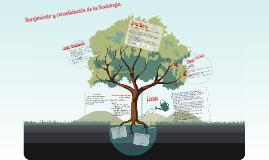 Copy of Origen y consolidación de la Sociología