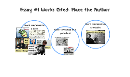 Literacy Narrative Works Cited