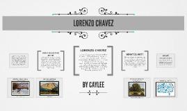 LORENZO CHAVEZ