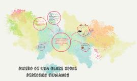 Copy of Diseño de una clase sobre derechos humanos