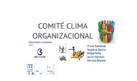 Copy of COMITÉ CLIMA ORGANIZACIONAL