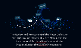 The Review and Assessment of the Philippine Water Collection