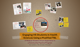 Engaging HS Students in Health sciences using a modified TBL