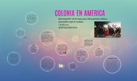 COLONIA EN AMERICA