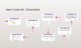 Amortización Constante