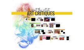 Art Critiques