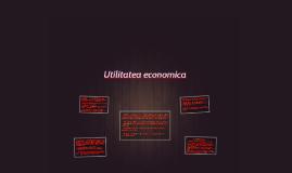 Utilitatea economica