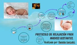 Protocolo de relajación para madres gestantes.
